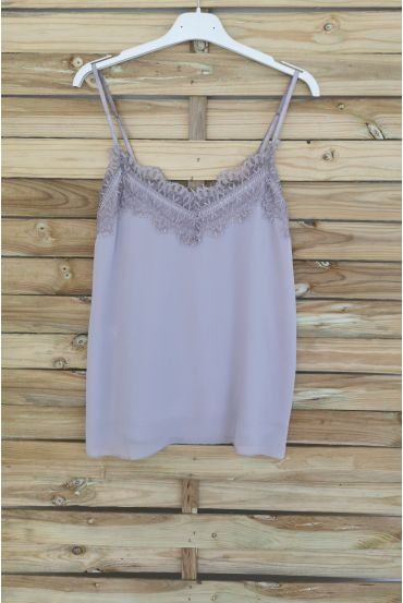 CAMISOLE LACE 3037 TAUPE