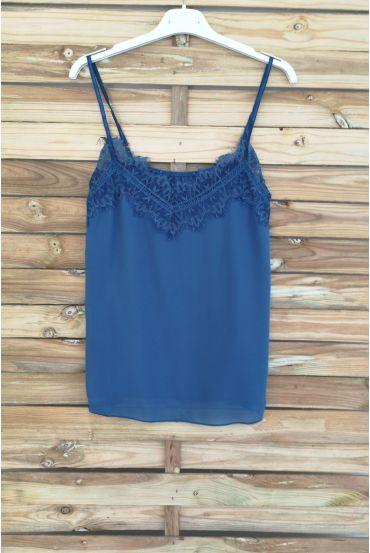 CAMISOLE LACE 3037 BLUE