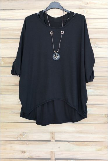 PULL 2 PIECES JEWELRY INTEGRATED 3051 BLACK