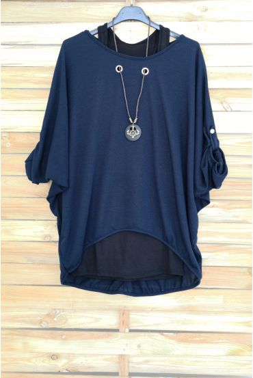 PULL 2 PIECES JEWELRY INTEGRATED 3051 NAVY BLUE
