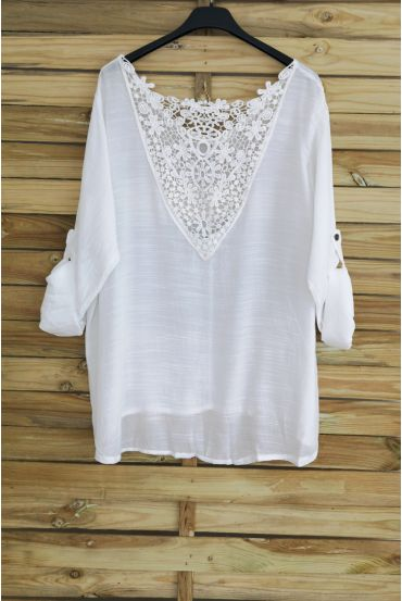 TOP BACK LACE 3048 WHITE