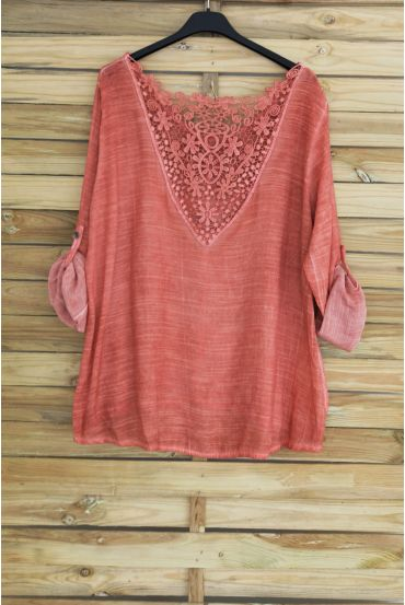 TOP BACK LACE 3048 BRICK