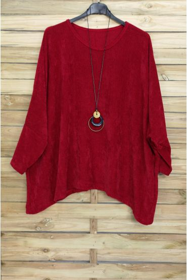 LARGE EFFECT SIZE VELOUR + PADDED OFFERED 4019 RED