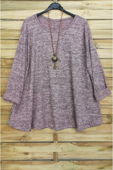 LARGE SIZE PULL EVASE + NECKLACE OFFERED 4016 PINK