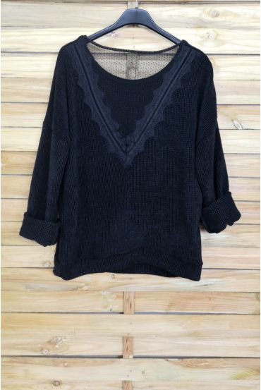 PULL SOFT BACK LACE 4056 BLACK