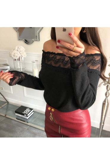 PULL LACE 4068 BLACK