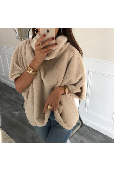 CAPE FUR SYNTHETIC 5010 BEIGE