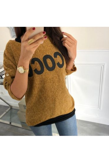 PULL 2 PIECES COCONUT 5050 MUSTARD