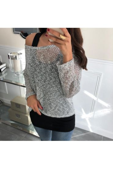 PULL 2 PIECES 5051 BLANC