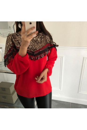 TOP SPANGLE 5068 RED