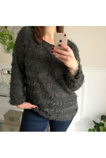 LARGE SIZE SWEATER BRIGHT 5067 GREY