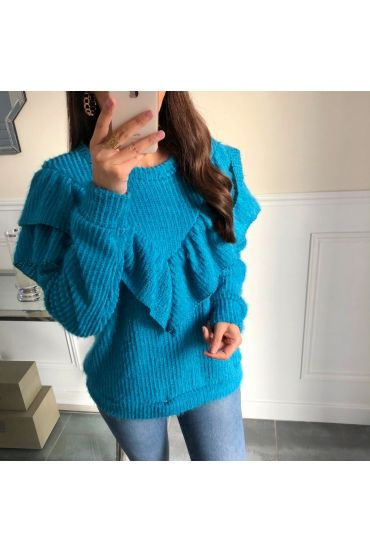 PULL SOFT RUFFLES 5099 BLUE