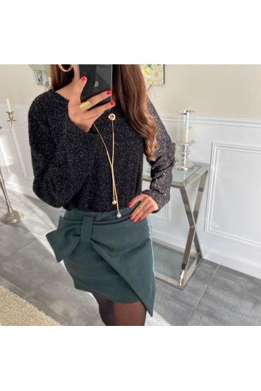 SKIRT SUEDINE 5122 GREEN