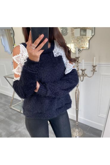 PULL LACE 5044 NAVY BLUE