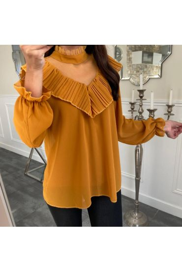 BLOUSE 5131 MOUTARDE