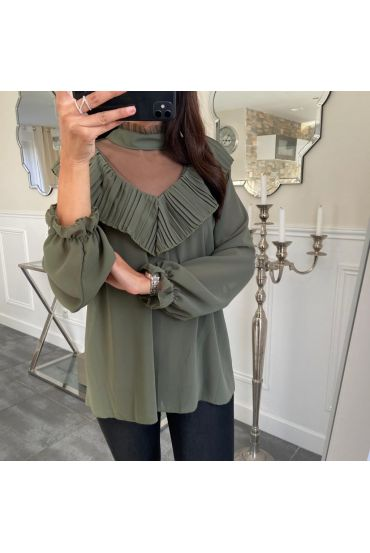BLOUSE 5131 GREEN MILITARY