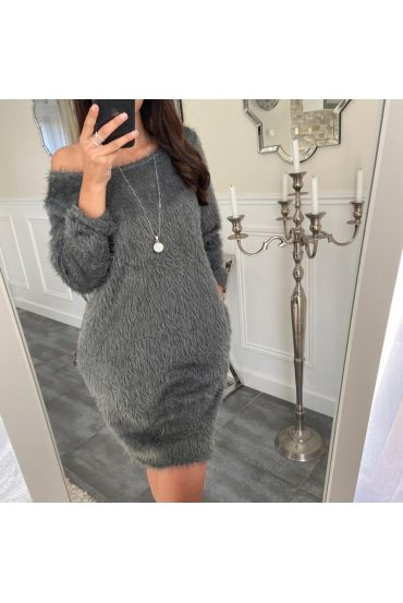 ROBE + COLLIER 5157 GRIS