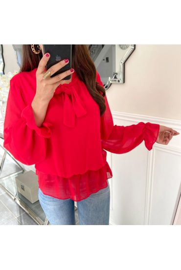 BLOUSE VEIL 5164 RED