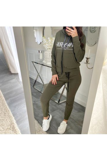 TOGETHER SWEET + JOGGING 5174 NY GREEN MILITARY