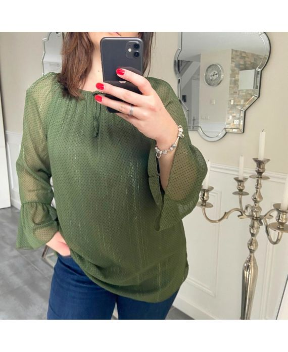 LARGE SIZE TUNIC 5182 GREEN MILITARY