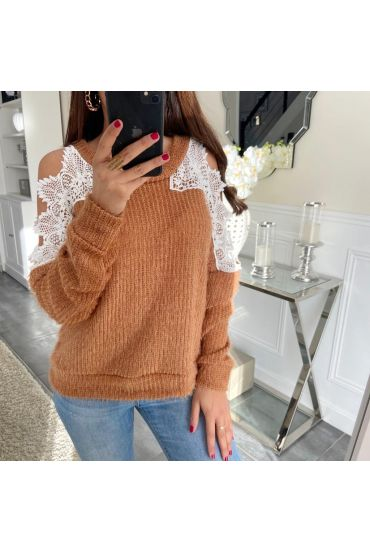 PULL LACE 5044 CAMEL