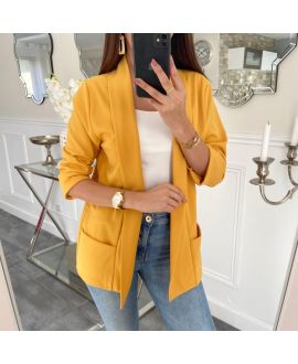 JACKET BLAZER 2 POCKETS 5232 MUSTARD