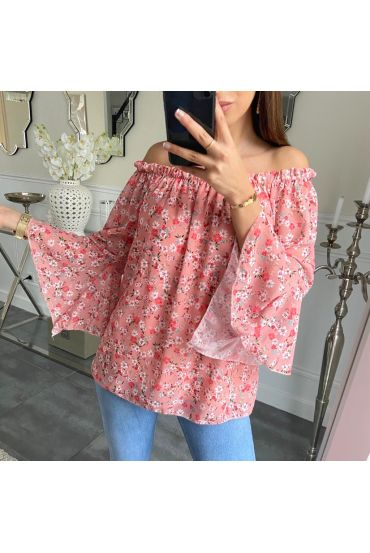 TUNIC FLORAL 5249 PINK