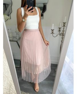 LONG SKIRT CLOAKING 5247 PINK