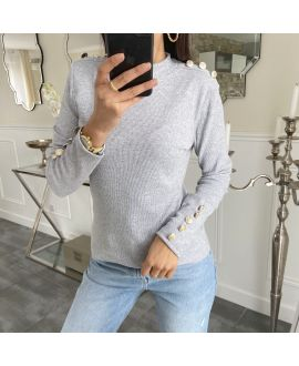 A SWEATER-STYLE OFFICER 5270 GREY