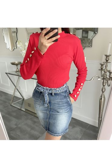 PULL STYLE OFFICIER 5270 ROUGE