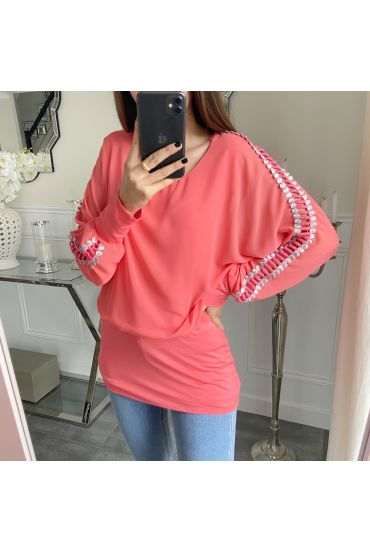 TOP DETAIL MANCHES 5171 CORAIL