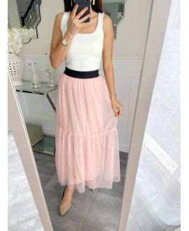 LONG SKIRT TULLE 5235 PINK