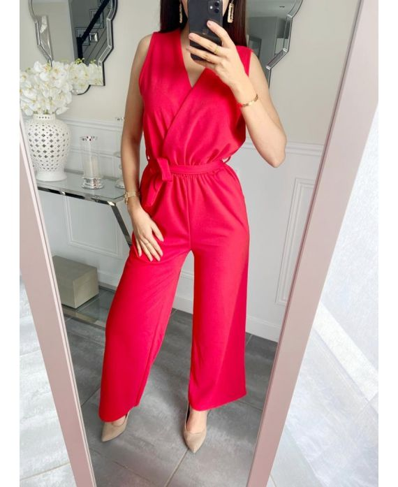 COMBINATION PANTS 5257 RED