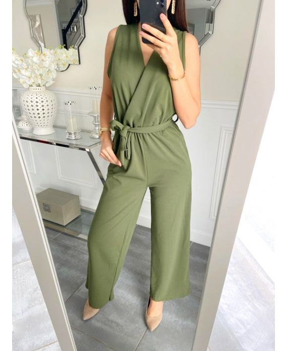 COMBINATION PANTS 5257 MILITARY GREEN