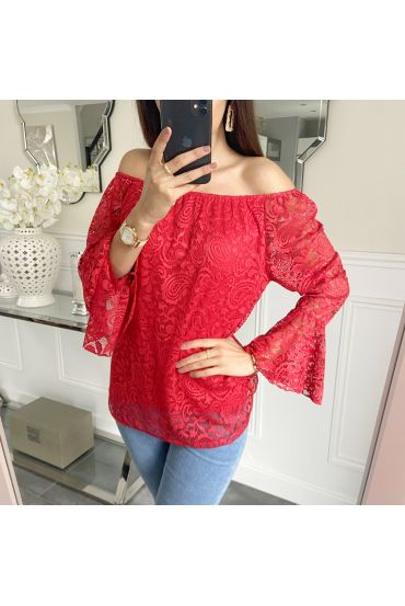 TUNIC LACE 5248 RED
