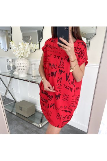 TUNIC SHORT SLEEVES 5247 RED