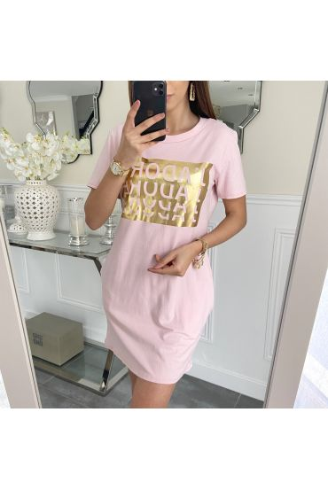 TUNIC LONG J LOVE 5233 PINK