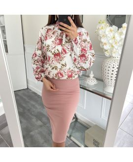 PACK 4 SKIRTS S-M-L-XL 5260 ROSE
