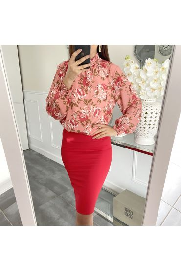 PACK 4 SKIRTS S-M-L-XL 5260 RED