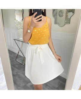 SHORT SKIRT 5430 WHITE
