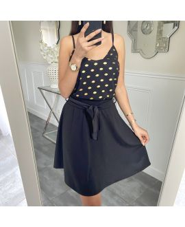 SHORT SKIRT 5430 BLACK
