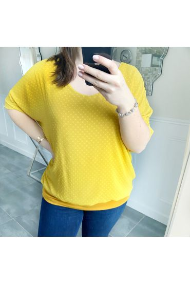 LARGE SIZE TOP BACK HAS BUILD 5255 MUSTARD