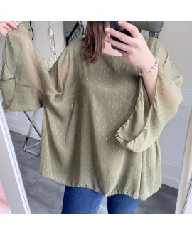 LARGE SIZE TUNIC SLEEVES BATS 5256 MILITARY GREEN