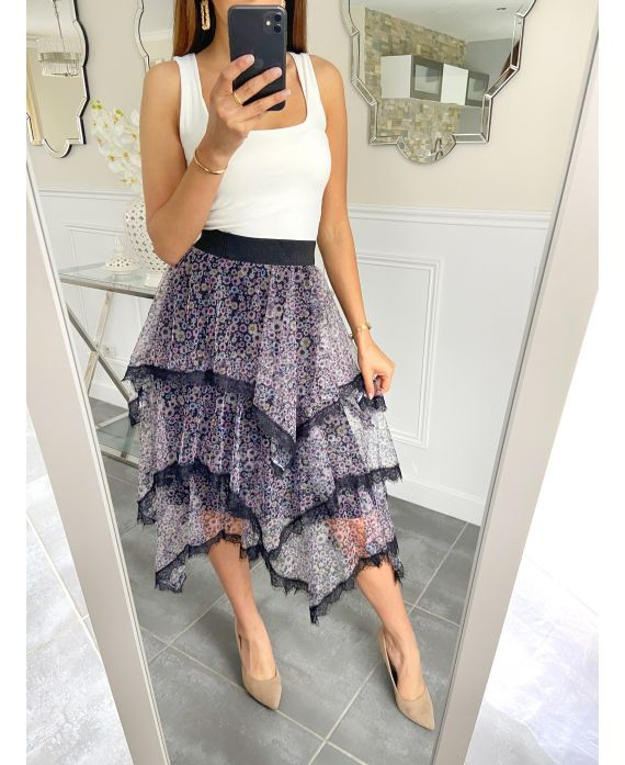 SKIRT HAS RUFFLES 5119