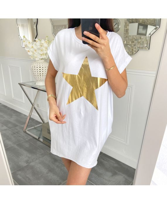 TUNIC STAR 5462 WHITE