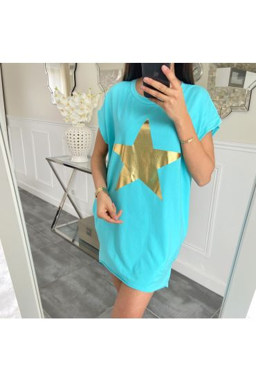 TUNIC STAR 5462 BLUE LAGOON