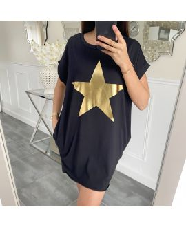 TUNIC STAR 5462 BLACK