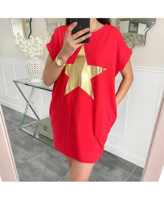 TUNIC STAR 5462 RED