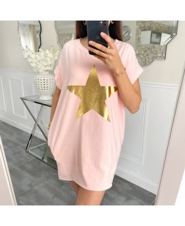 TUNIC STAR 5462 PINK