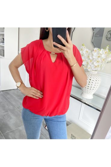 TOP VOILAGE 5457 ROUGE